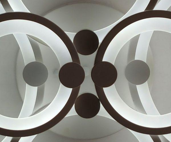 потолочная люстра с пультом управления светодиодная фото
