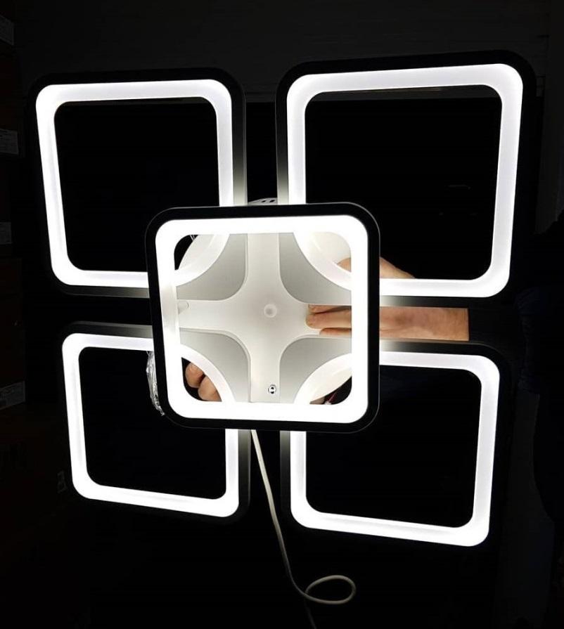 квадраты люстра светодиодная фото