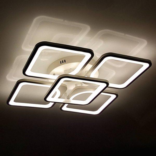 Люстра светодиодная Квадраты фото