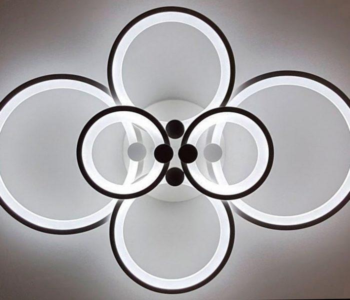 Потолочная LED люстра фото