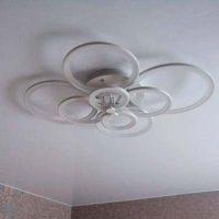 Светодиодная люстра в спальню фото