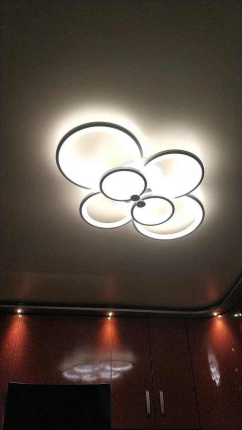 Светодиодная люстра для кухни фото