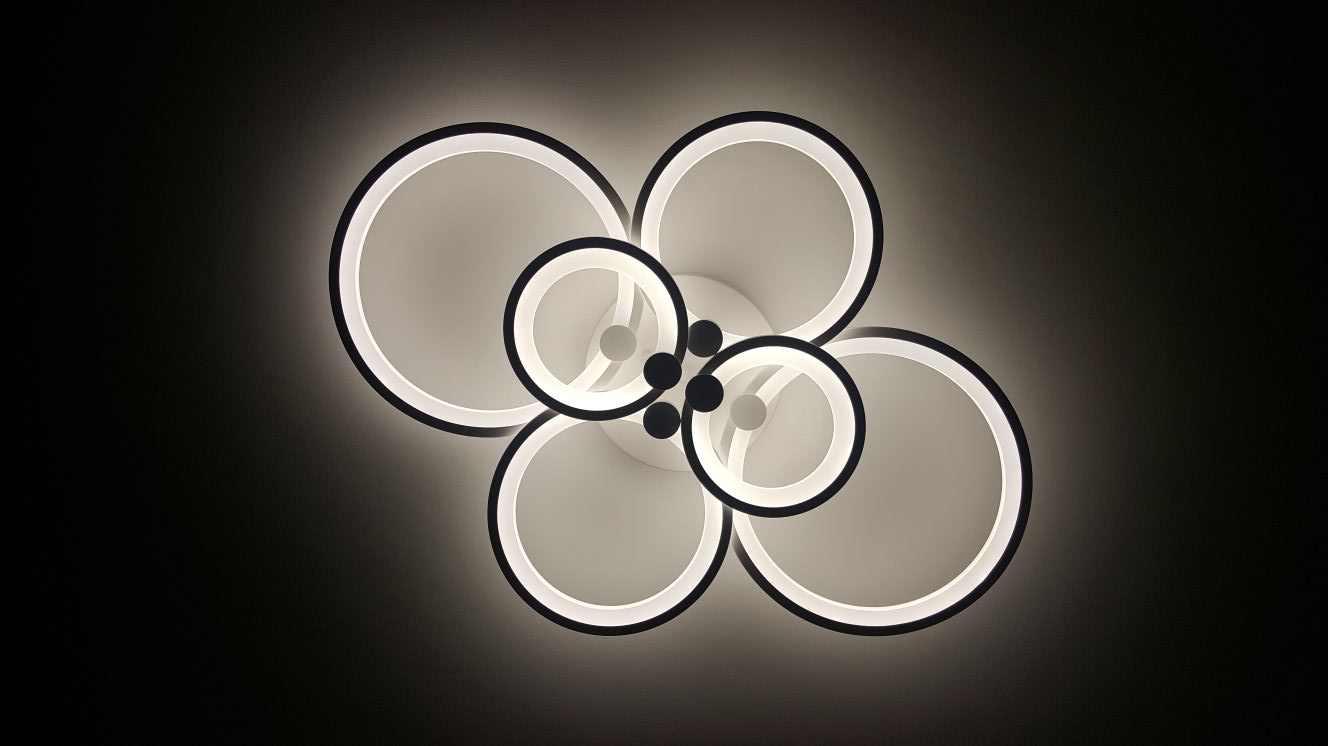 светодиодная люстра в детскую с пультом фото