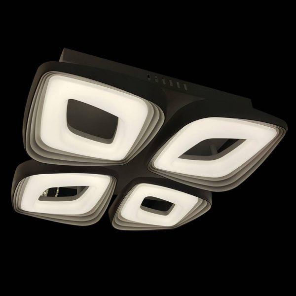 Люстра светодиодная геометрия фото