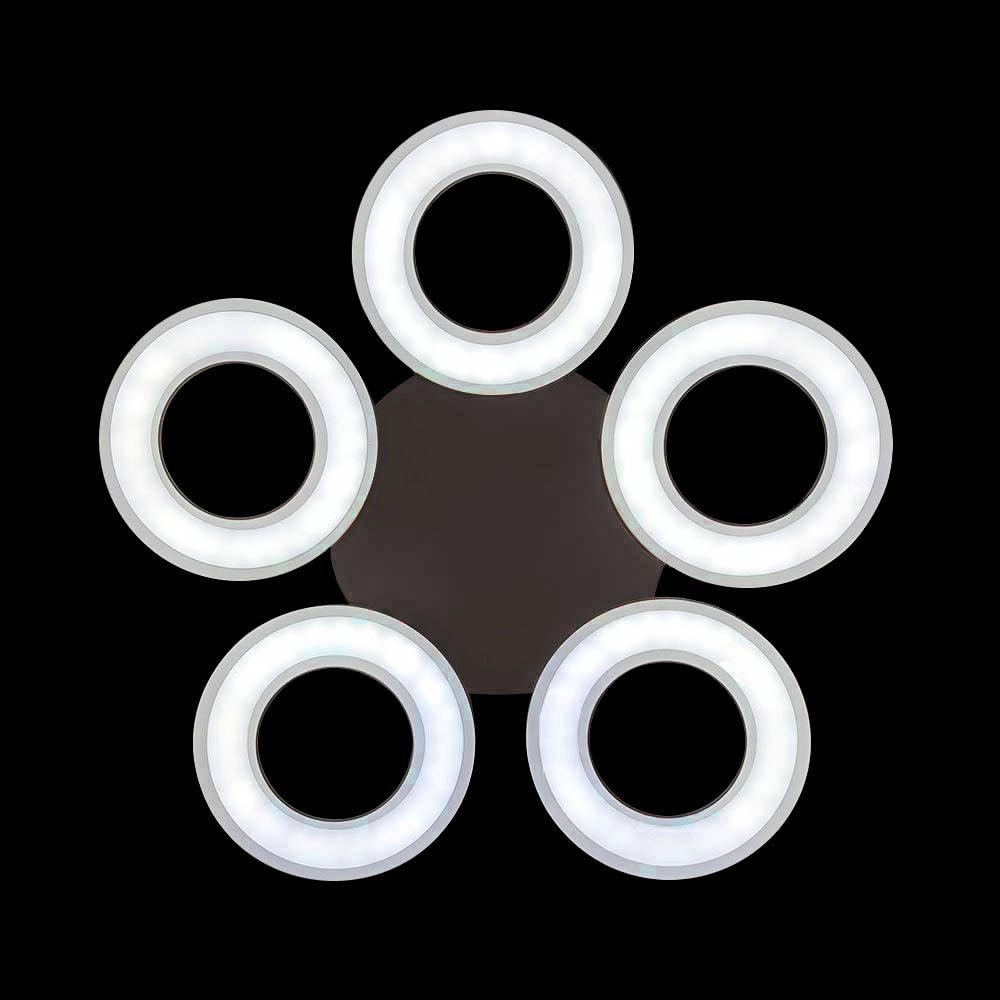Светодиодная люстра с пультом круги фото
