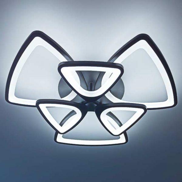 диодная люстра треугольники с пультом фото2