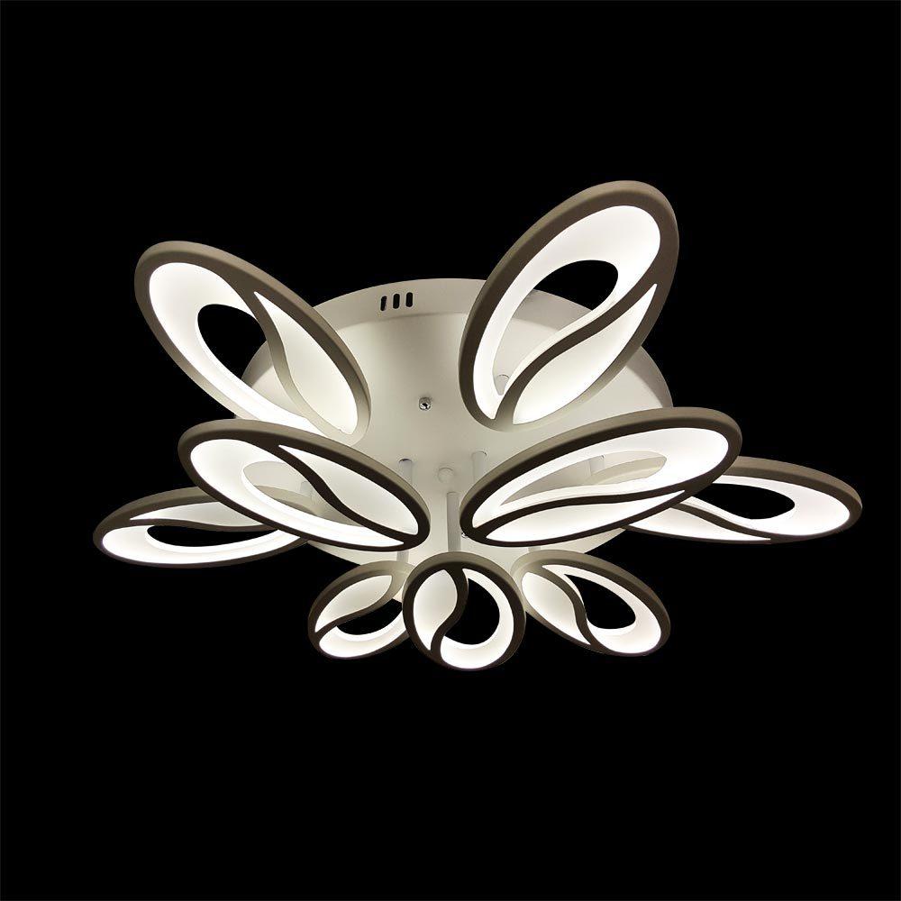 Люстра светодиодная цветок фото