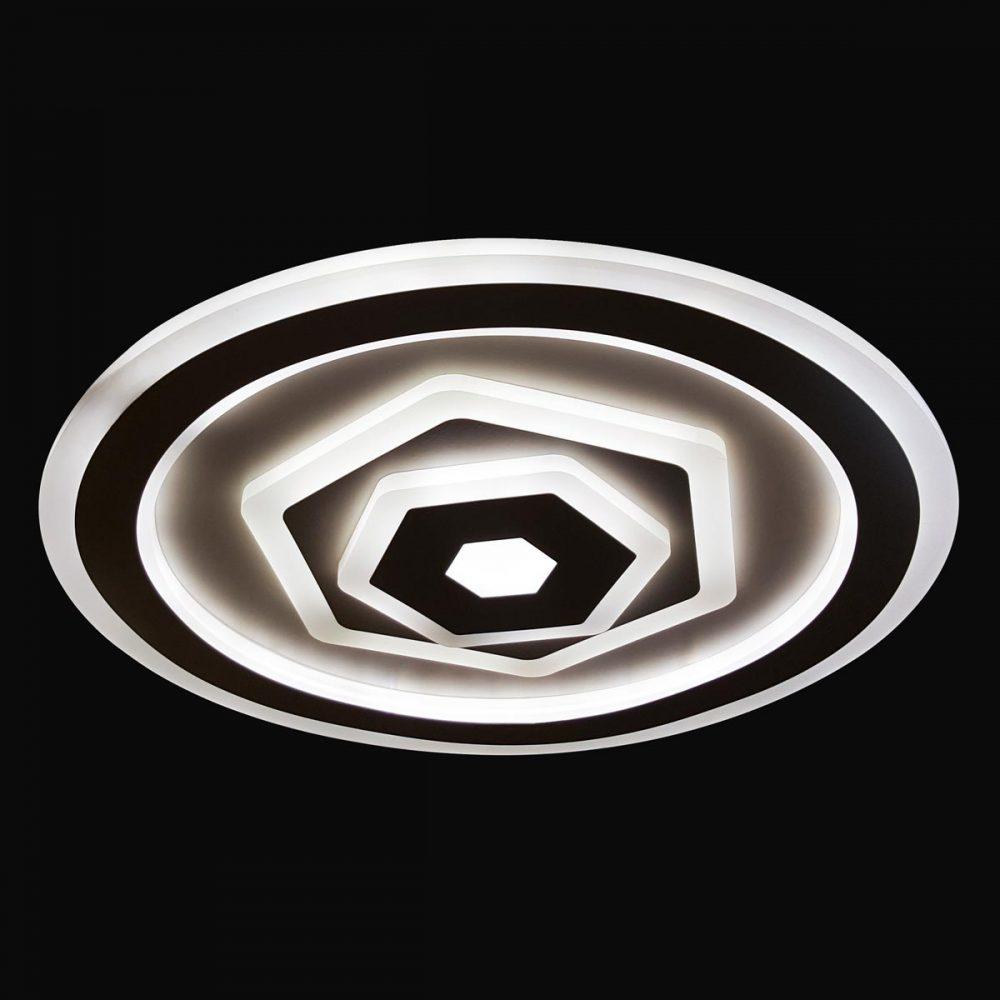Люстра плоская круглая потолочная для дома фото