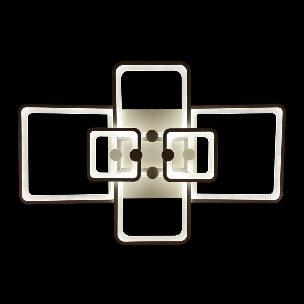 Люстра меняющая свет прямоугольная фото