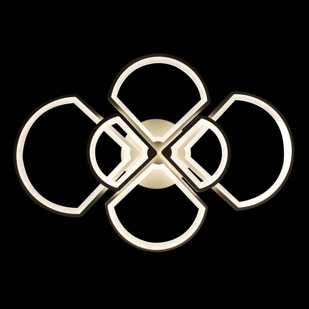 Люстра с пультом Геометрия фото