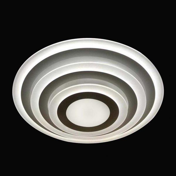 Круглая светодиодная люстра фото