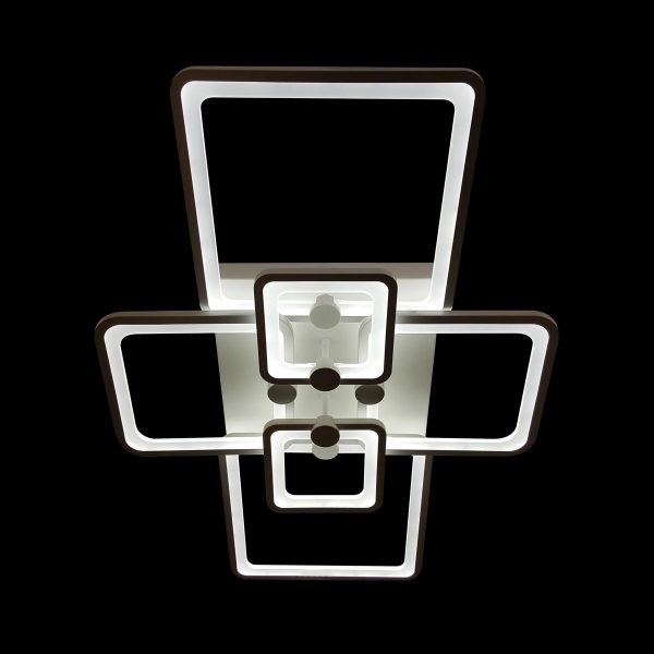 Диодная люстра потолочная фото