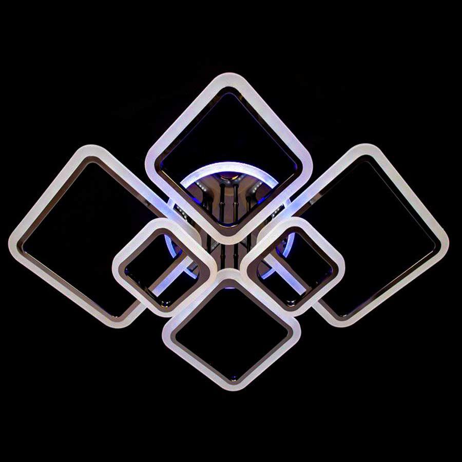 Люстра squares-new коричневая фото