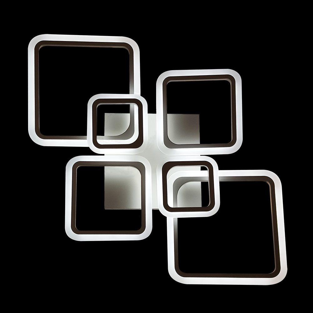 Люстра квадраты NEW светодиодная фото
