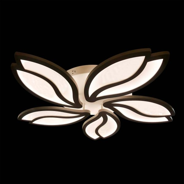 Люстра светодиодная цветок 5 лепестков