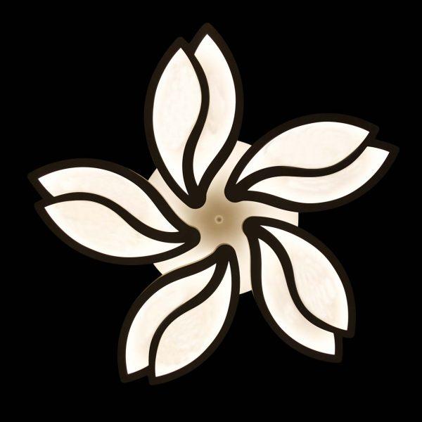 Люстра цветок с пультом фото