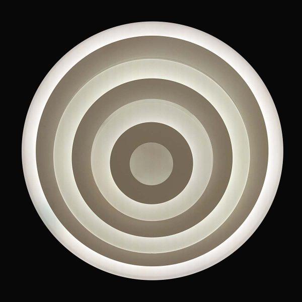 Люстра потолочная круглая светодиодная фото