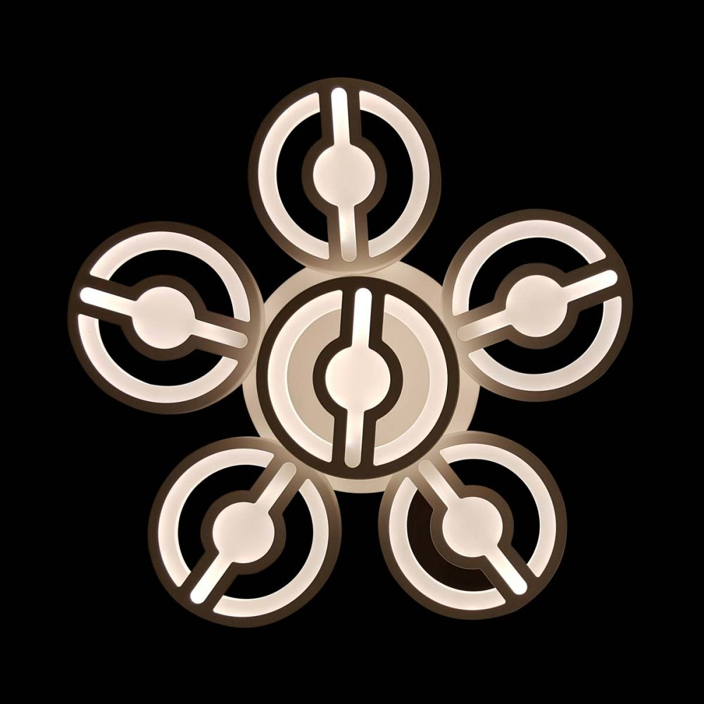люстра Round Flower с диммером фото