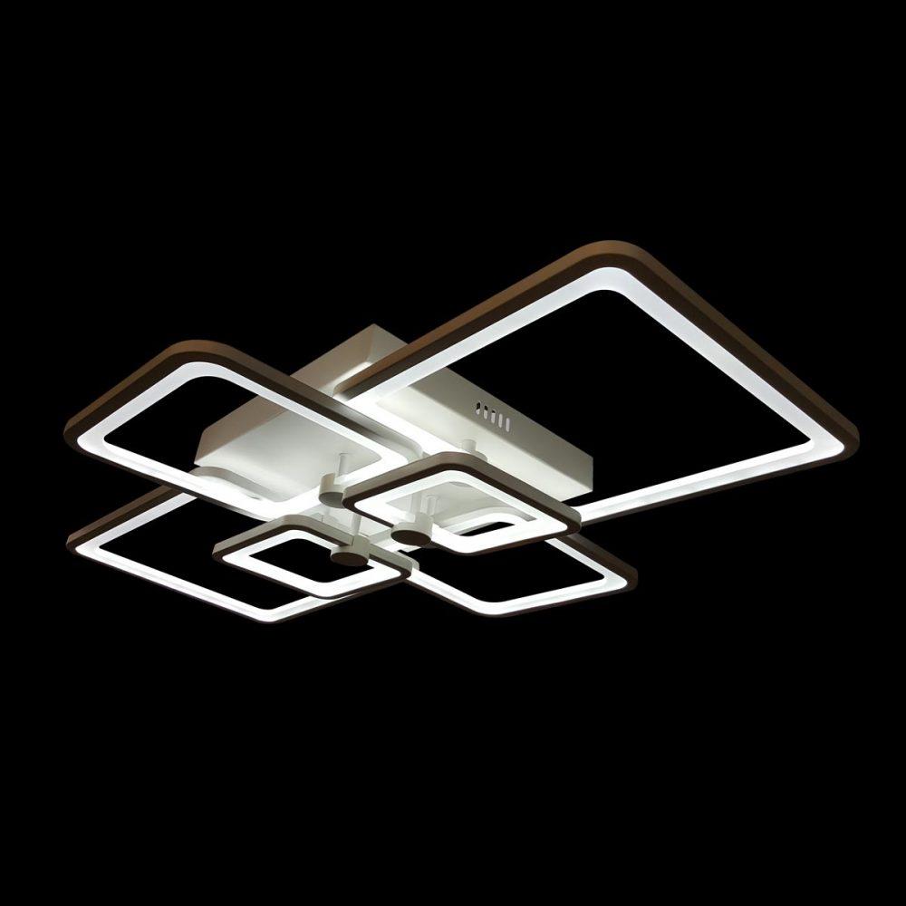 Люстра светодиодная прямоугольная фото