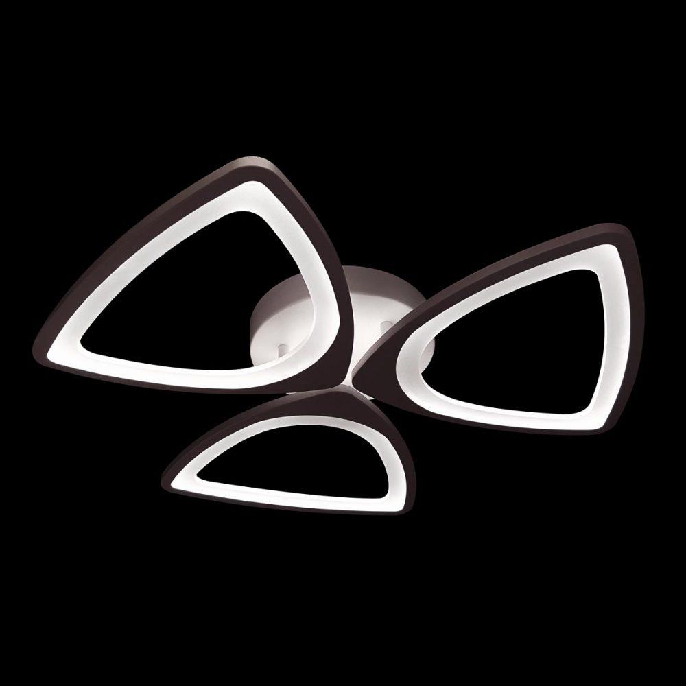 Люстра светодиодная треугольники мини фото