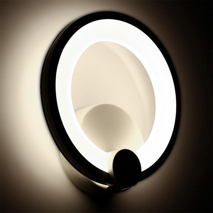 Бра кольцо светодиодное фото