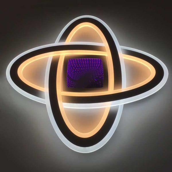 Плоская светодиодная люстра plexus фото