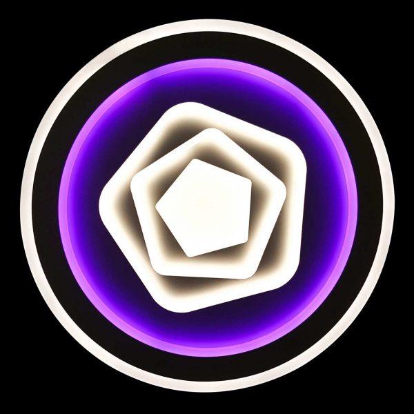 Диодная люстра с выбором цвета Laguna фото