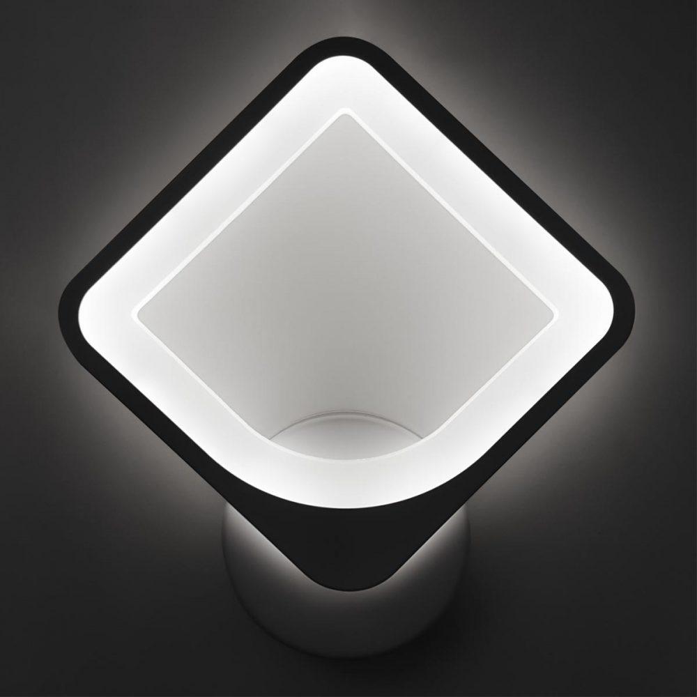Бра светодиодное квадрат фото