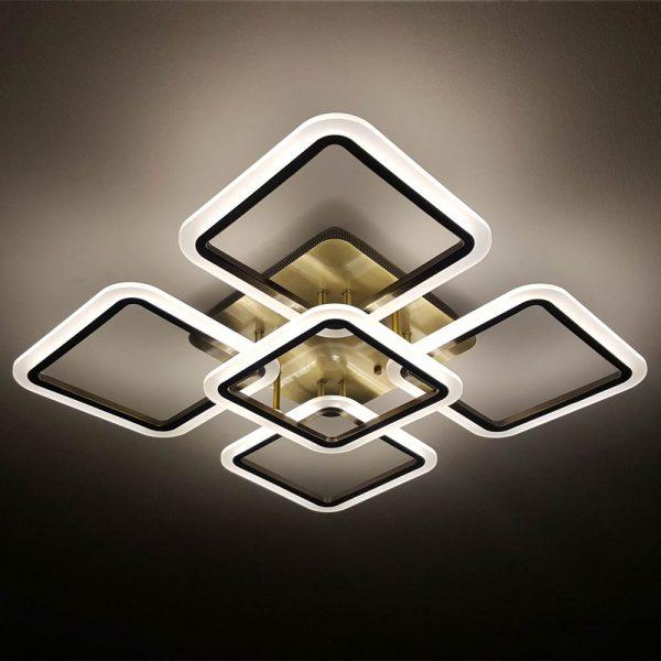 светильник квадрат с пультом фото