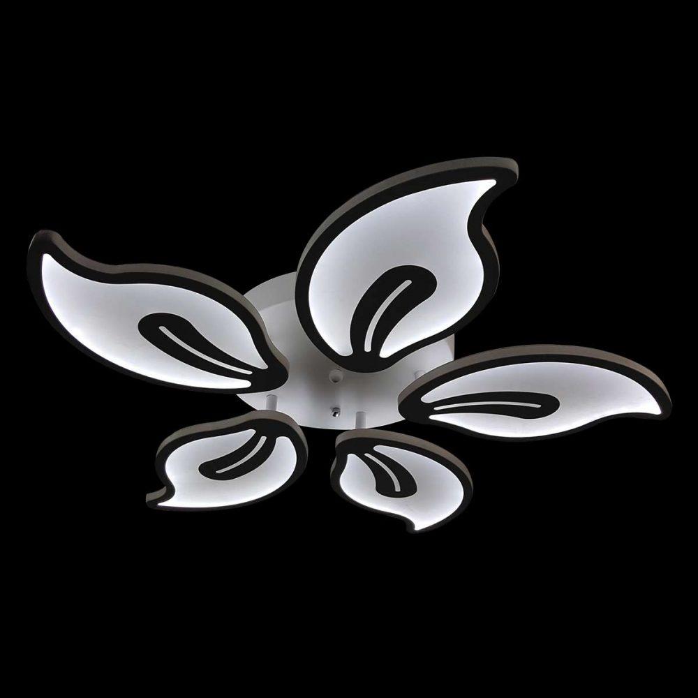 Люстра диодная с пультом цветок Flowers 4 фото