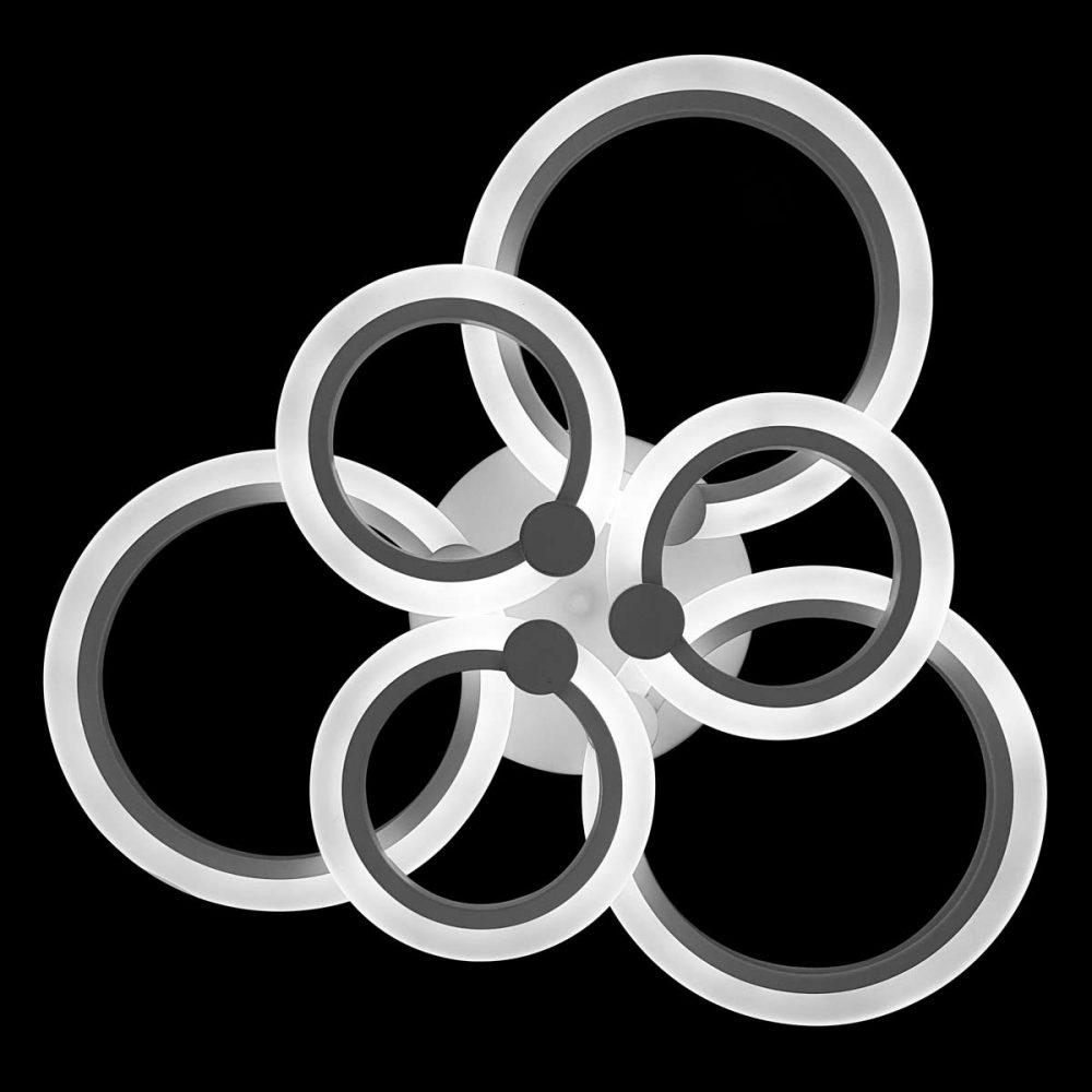 Люстра кругами светодиодная circles-2 фото