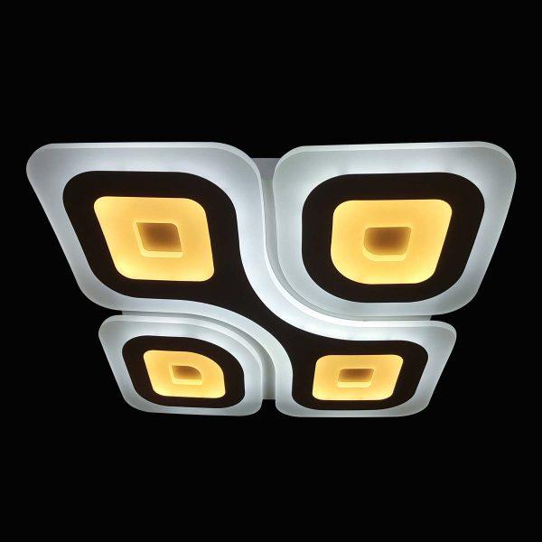 Люстра квадратные светодиоды фото