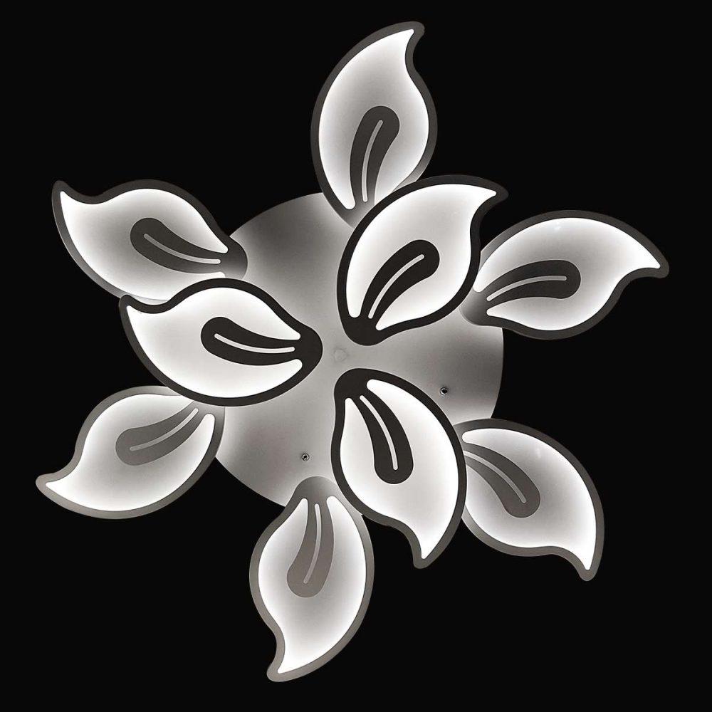 Люстра лед потолочная цветок flowers 4 фото