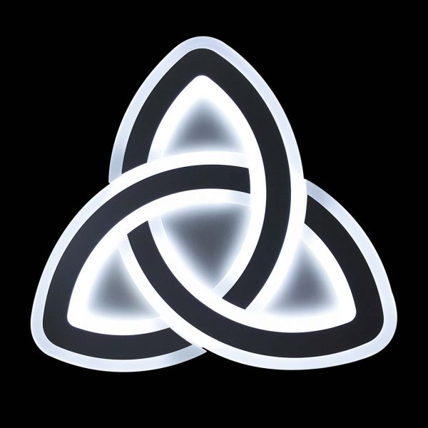 Люстра с диммером светодиодная trinity фото