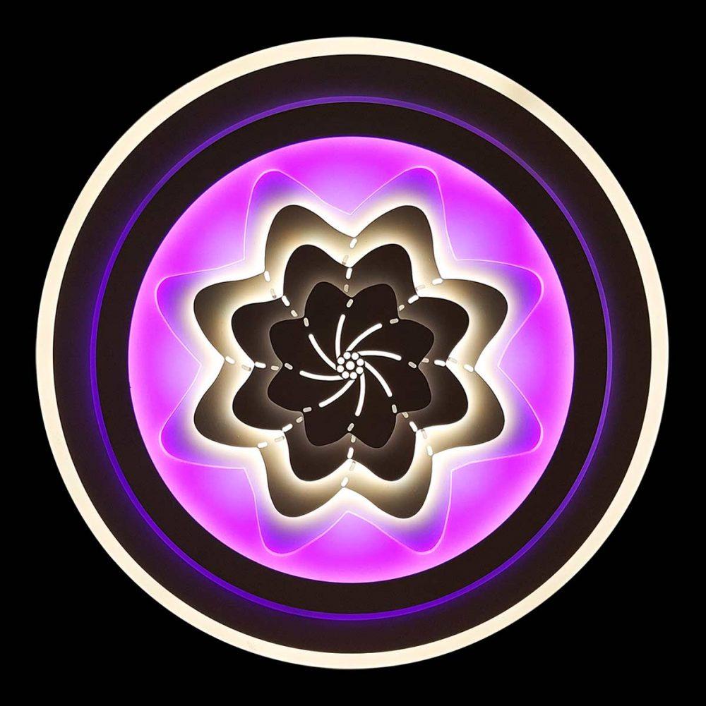 Люстра с цветной подсветкой Star фото