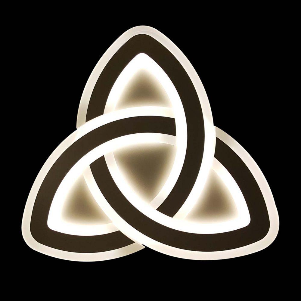 Люстра потолочная для дома с пультом trinity