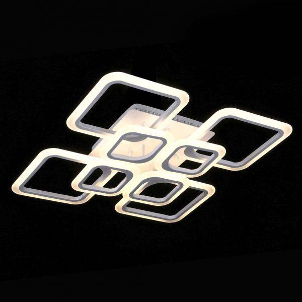 Светодиодная люстра потолочная outer-squares фото