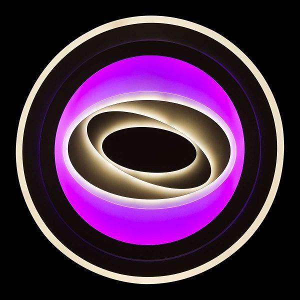 Светодиодная люстра rgb с пультом deepness фото