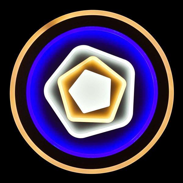 Светодиодная люстра rgb с пультом laguna фото