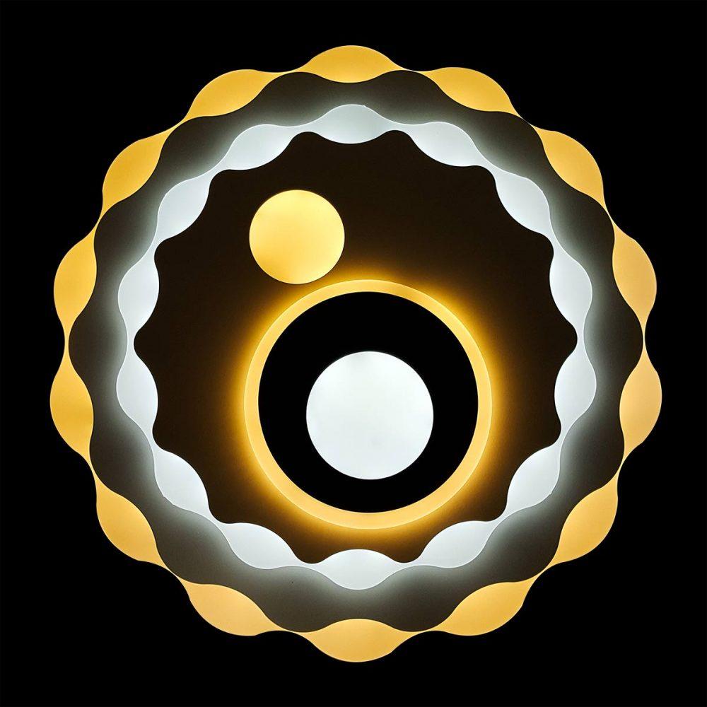 Светодиодная люстра Солнце фото
