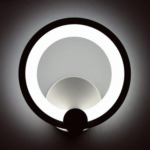 Светодиодный круглый бра фото