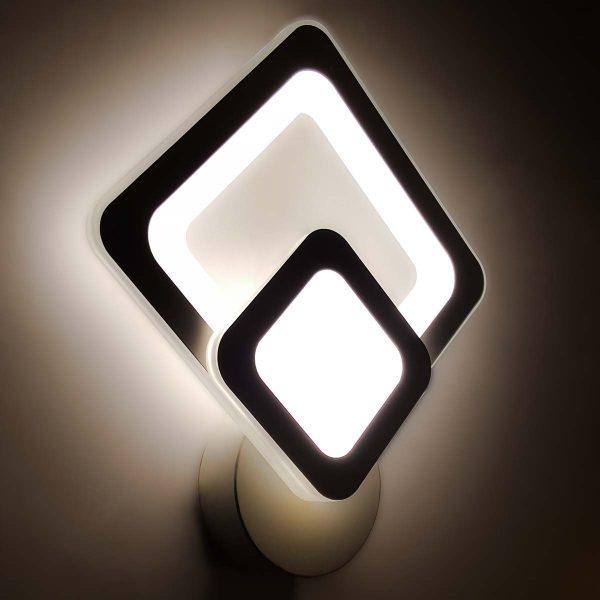 Бра светодиодный в форме ромба фото