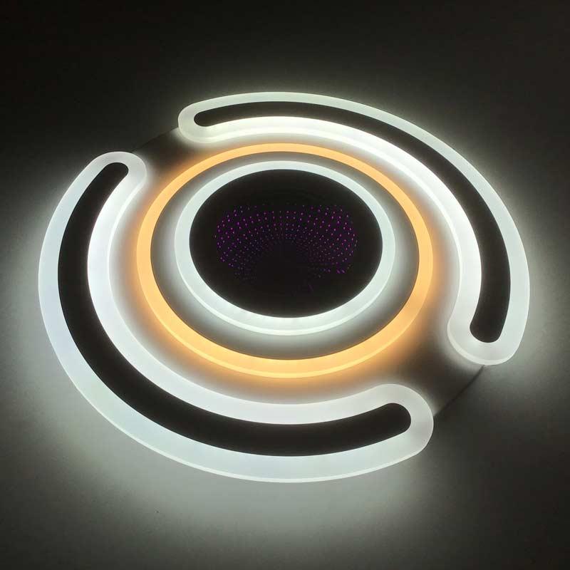 Диодная люстра kosmo-3d фото