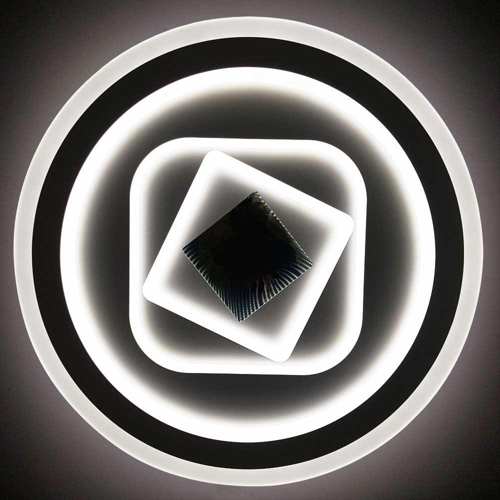 круглая led люстра с пультом фото