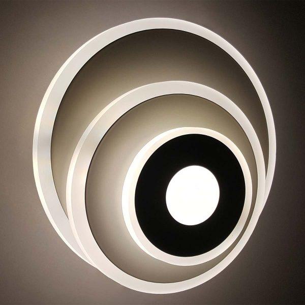 LED бра настенный меняющий цвет Circle фото