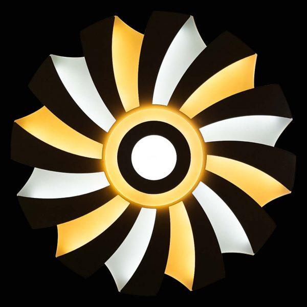 Лед люстра солнце с пультом фото