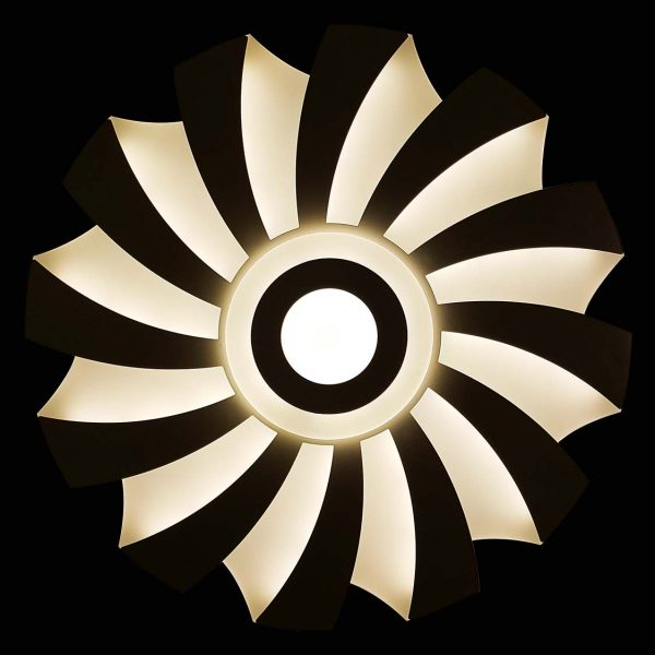 Люстра потолочная Солнце фото