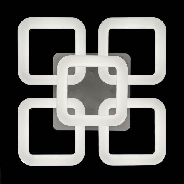Люстра 5 квадратов fluence-5
