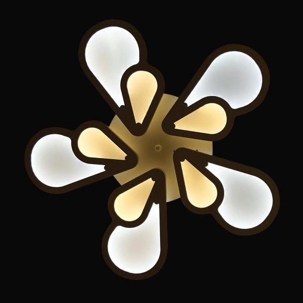 Люстра цветок меняющая цвет фото