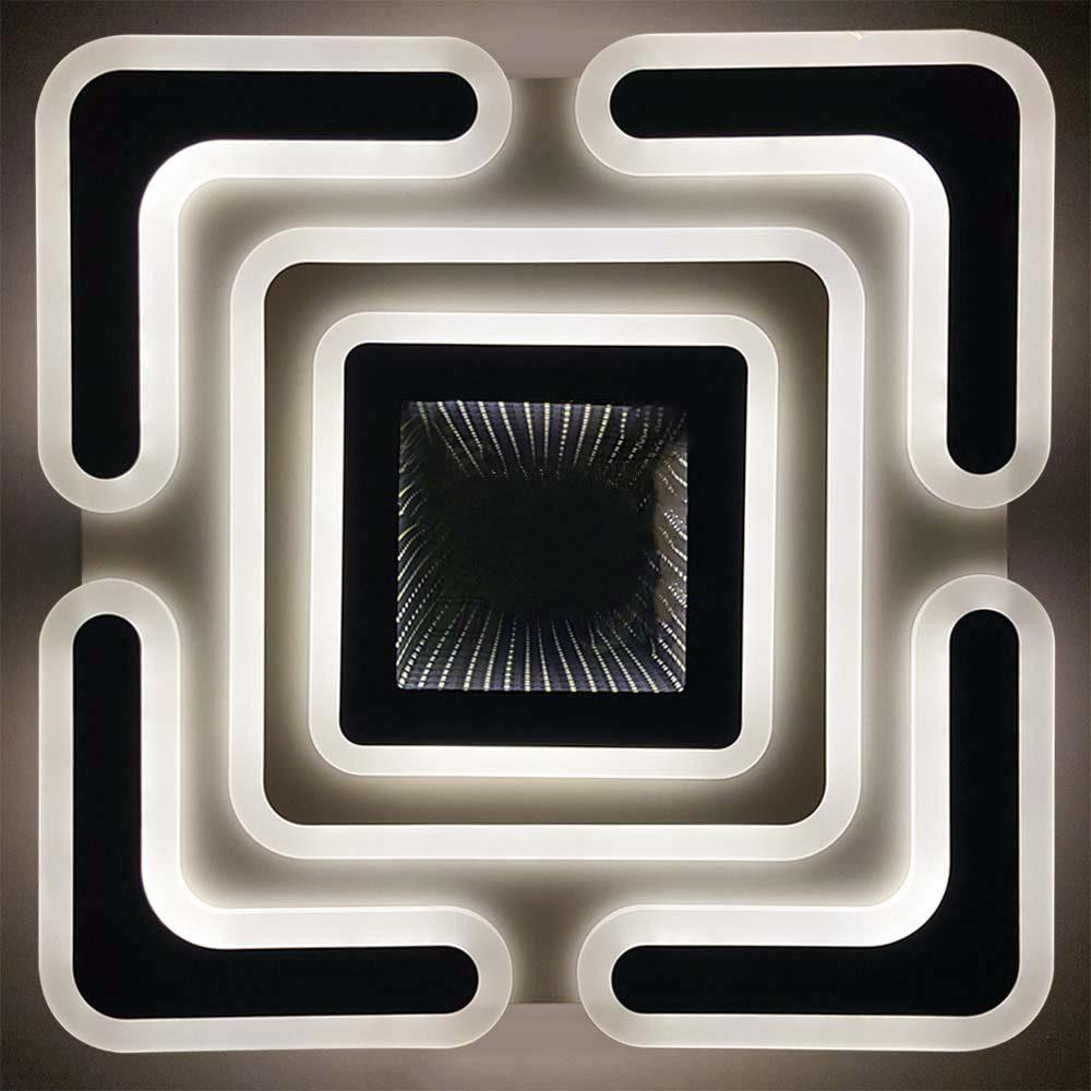 Люстра Геометрия диодная с пультом фото